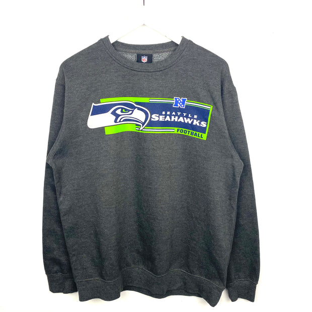 NFL Seattle Seahawks Printed Sweatshirt (M)