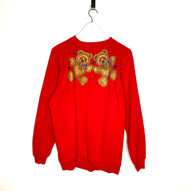 Two Bears Retro Sweatshirt (S)