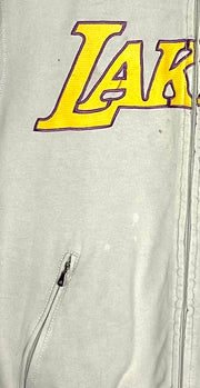 Adidas NBA Lakers Full Zip Sweatshirt (S)