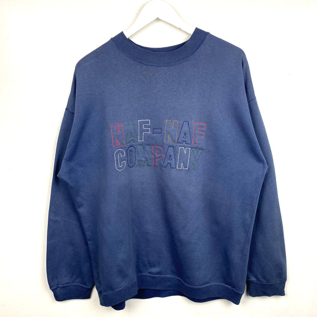 NafNaf Spell Out Sweatshirt (M)
