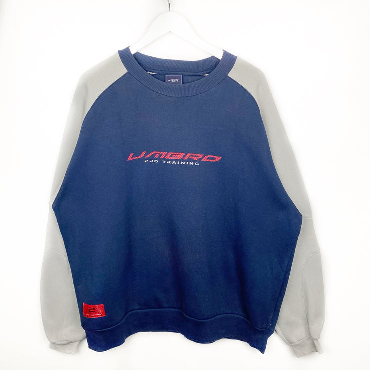 Umbro Pro Training Vintage Sweatshirt (XL)