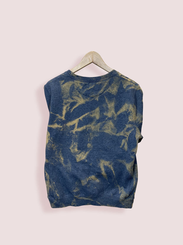 L Champion Acid Wash Navy Sweatshirt - DURT