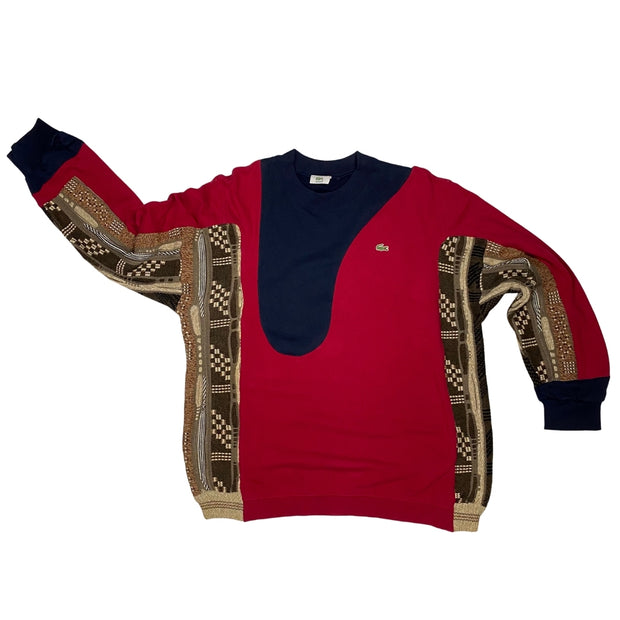 Lacoste Coogi Rework Red (L)