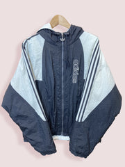 M Adidas Spell Out Full Zip Winter Jacket - DURT