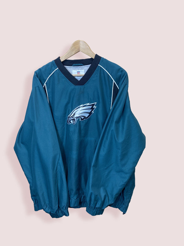 M NFL Philadelphia Eagles Pullover V Neck - DURT