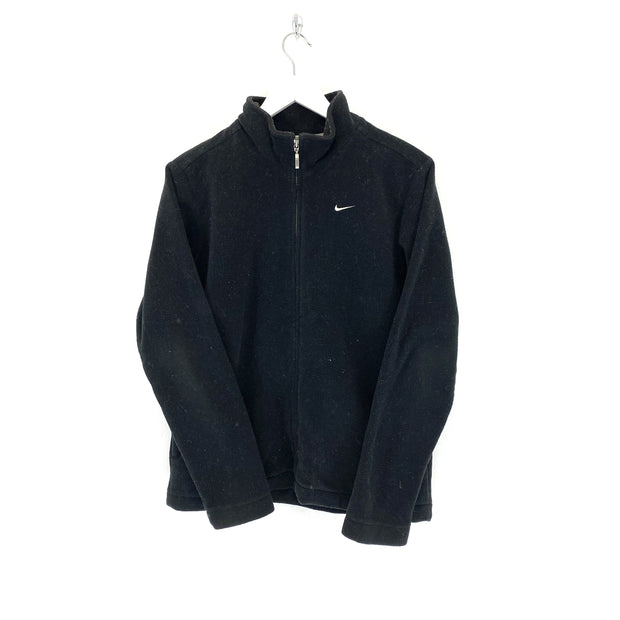Nike Black Full Zip Fleece (M) - DURT