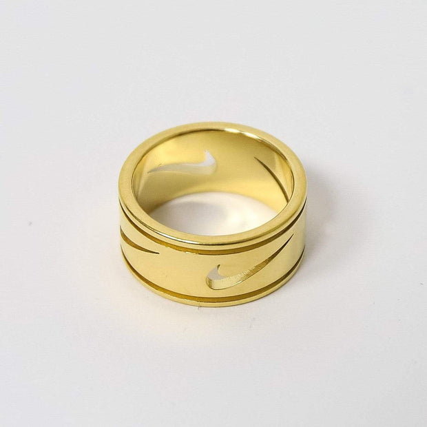 Nike Cut Out Gold Ring - DURT