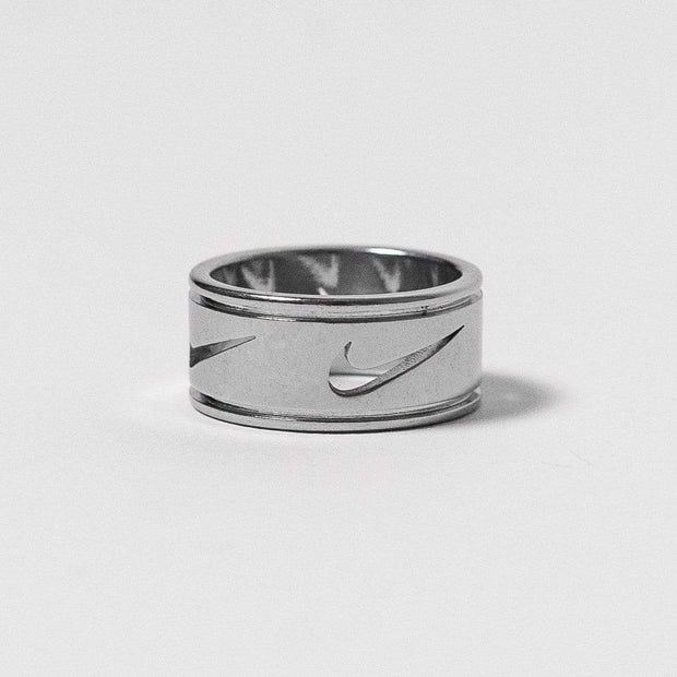 Nike Cut Out Silver Ring - DURT