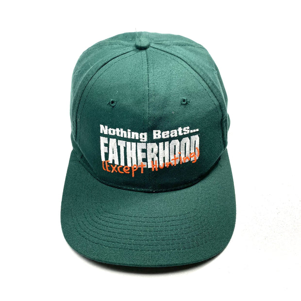 Nothing Beats Fatherhood (Except Hunting) Cap - DURT