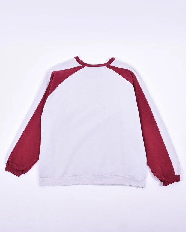 Puma Centre Front Large Burgundy Embroidered Logo (M) - DURT