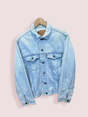 S Vintage Levis Button Up Washed Denim Jacket - DURT