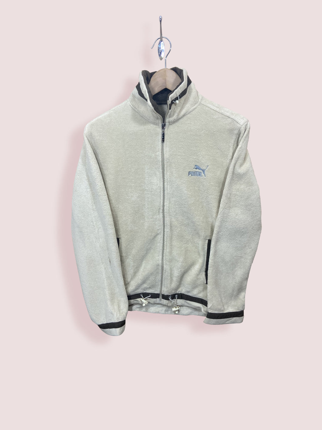 S Vintage Puma Full Zip Fleece - DURT