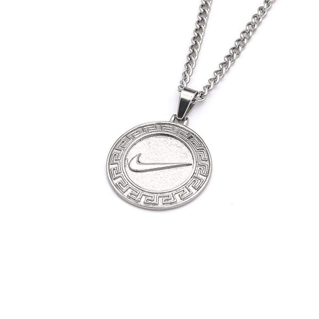 Swoosh VS Necklace Silver - DURT