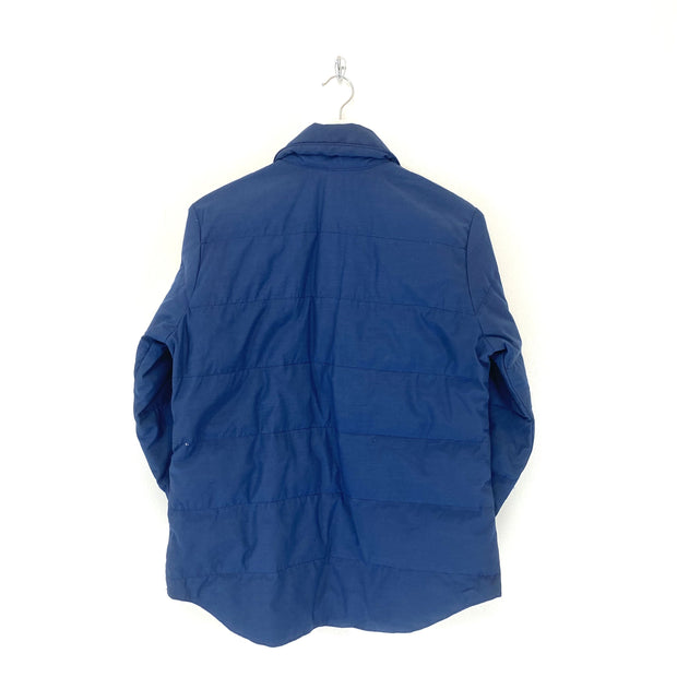 TNF Blue Padded Shirt Jacket (XS) - DURT