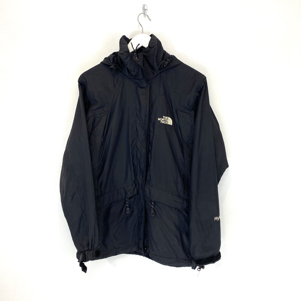 TNF Hyvent Black Hooded Windbreaker (S) - DURT
