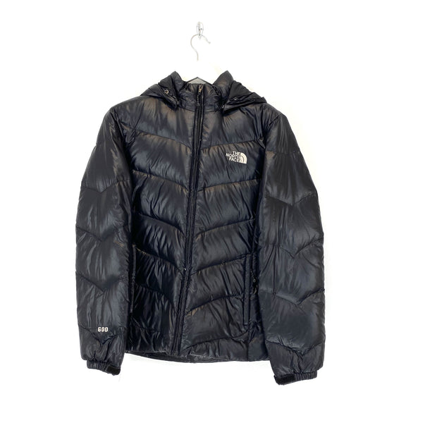 Women's M TNF Shiny Black Puffer - DURT