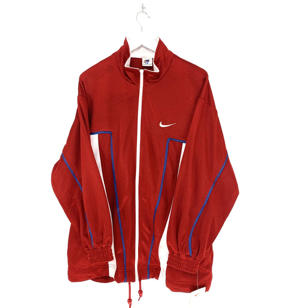 XL Nike Red Tick Logo Track top - DURT