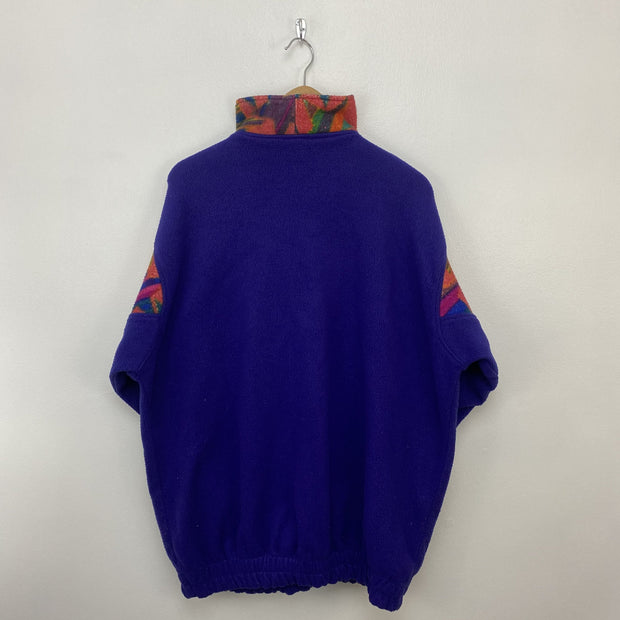 XL Polar Wear Royal Purple Fleece - DURT
