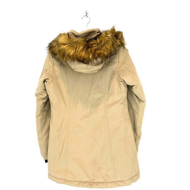 XS Women's TNF Tan Hooded Parka - DURT
