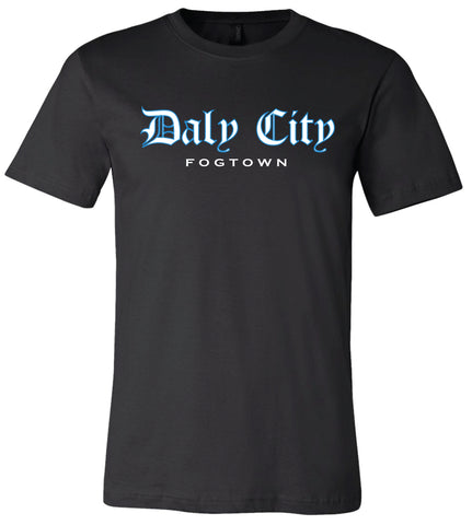 Daly City Black Men's T-Shirt