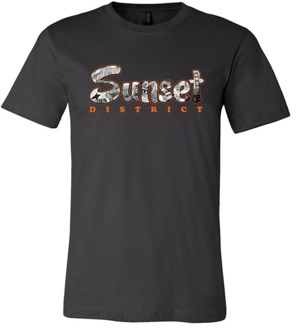 Sunset District San Francisco Men's T-Shirt.   graphicsportsweardesign.com