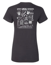 Load image into Gallery viewer, Support Local SF Restaurant Women's Tee