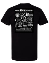 Load image into Gallery viewer, Support Local SF Restaurant Men's Tee
