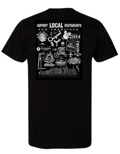 Support Local SF Restaurant Men's Tee