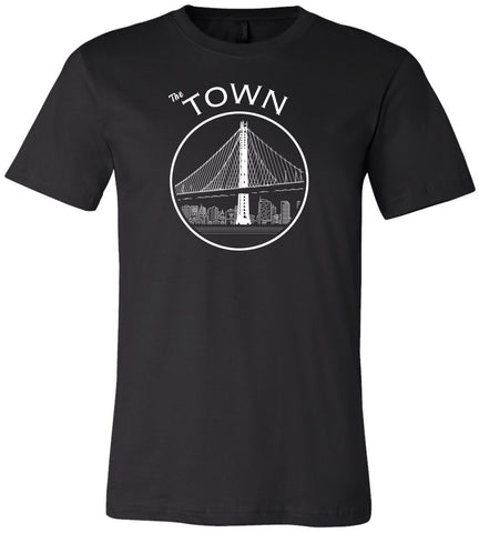 The Town Black Unisex T-Shirt