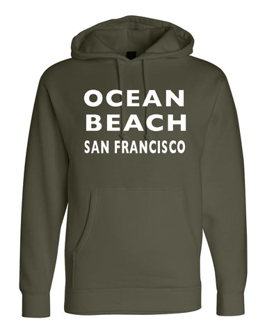Ocean Beach/Sunset Pullover Hood