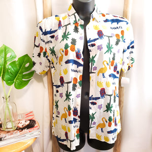 Hawaii Holiday Short Sleeve: Size S