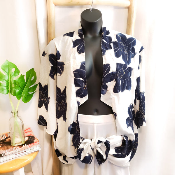 Floral Print Duster: Size S