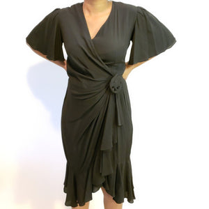 Vintage Black dress: Fits M/L