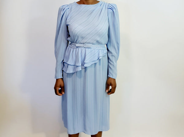 Vintage Silk Dress - Size M