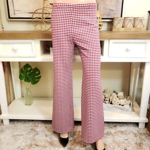 Vintage Houndstooth Pant: Size M
