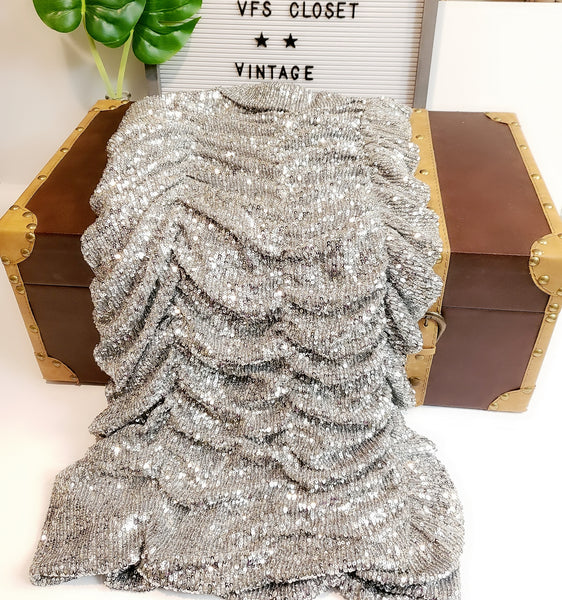 Sequin Dress: Size S