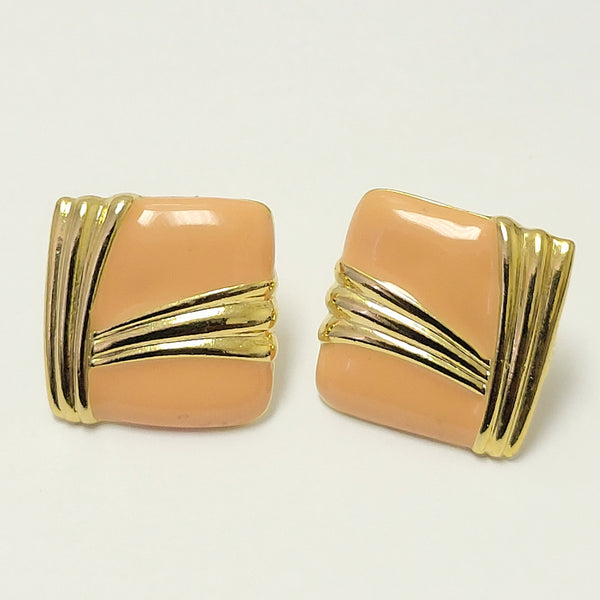 Vtg Pin Back Earring