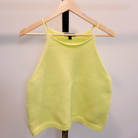 Sweater Knit Tank: L, XL