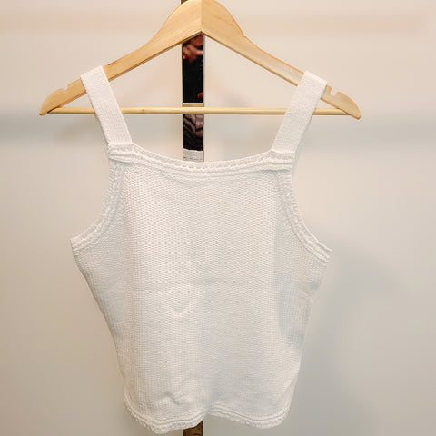 Sweater Knit Tank: M, XL