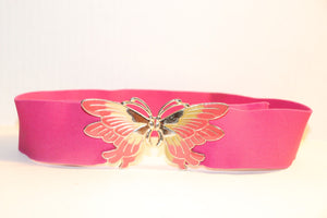Vintage Butterfly-Buckle Belt