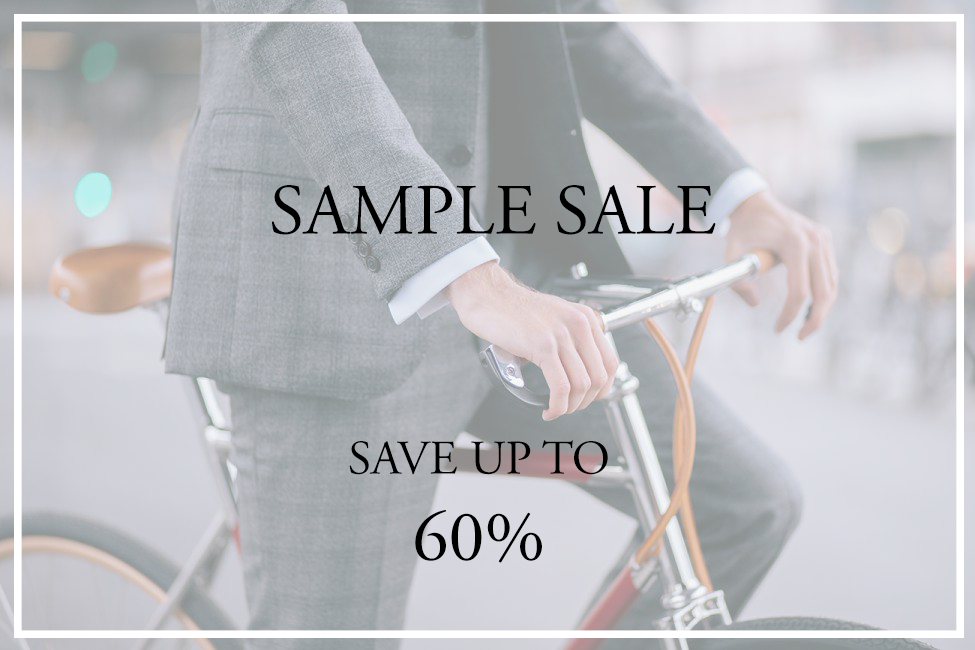 Bespoke Tailored Sample Sale