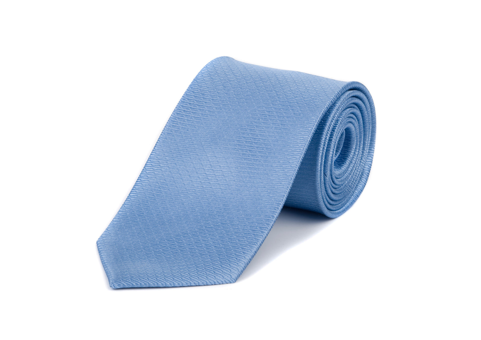 Blue Wave 100% Silk Tie