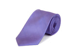 Lilac & Blue Striped 100% Silk Tie