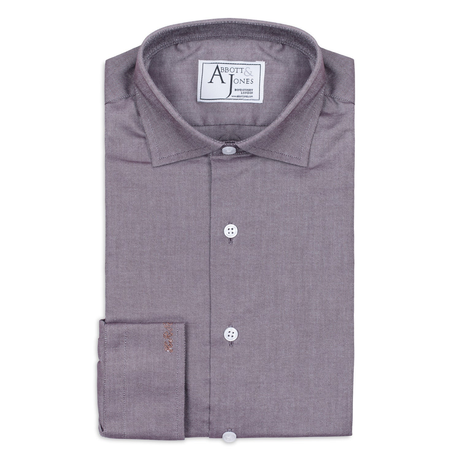 Brown Bespoke Shirt