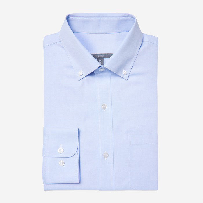 Bespoke - Button Down Blue Oxford Shirt
