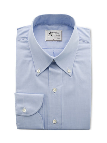 Bespoke - The True Blue Shirt - French Cuffs