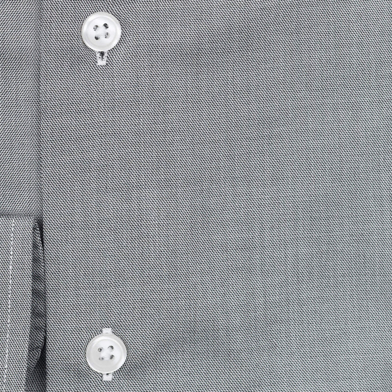 Bespoke - Grey Chambray Tailored Shirt