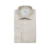 Bespoke - Beige Checked Shirt