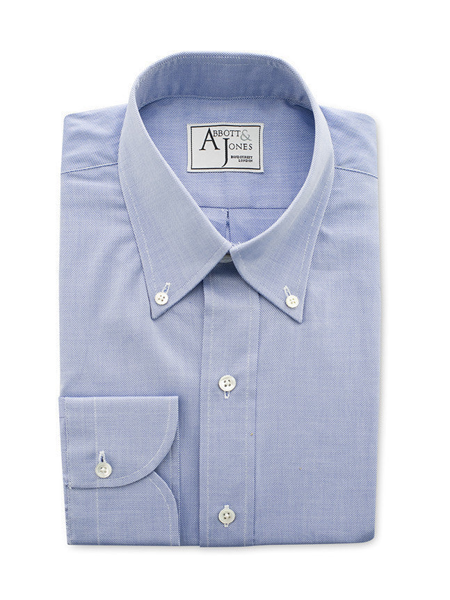 Bespoke - True Blue Royal Oxford Shirt