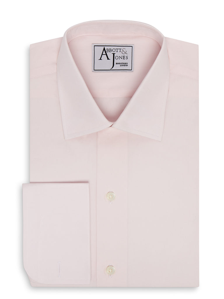 Bespoke - The Essential Pink Shirt - French Cuffs